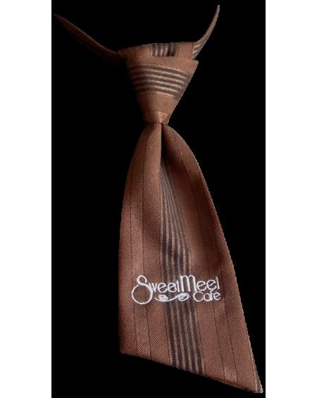 Cravatta donna logo Sweet Meet cafè
