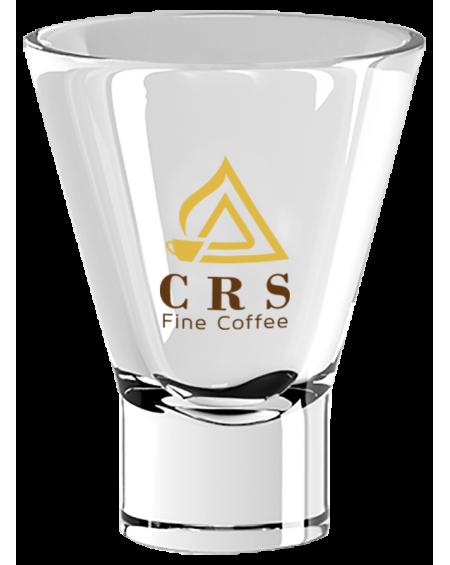 Bicchiere Ypsilon Logo CRS Giallo - conf. 3pz
