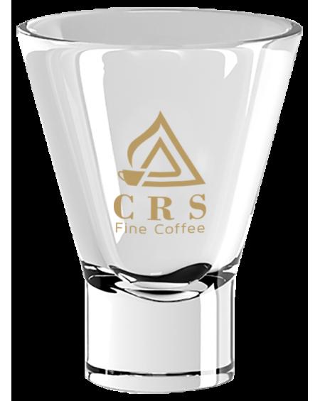 Bicchiere Ypsilon Logo CRS Oro - conf. 3pz